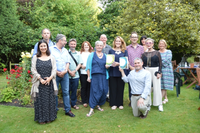 Violent States & Creative States Freud Museum authors group photo